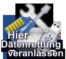Datenrettung veranlassen